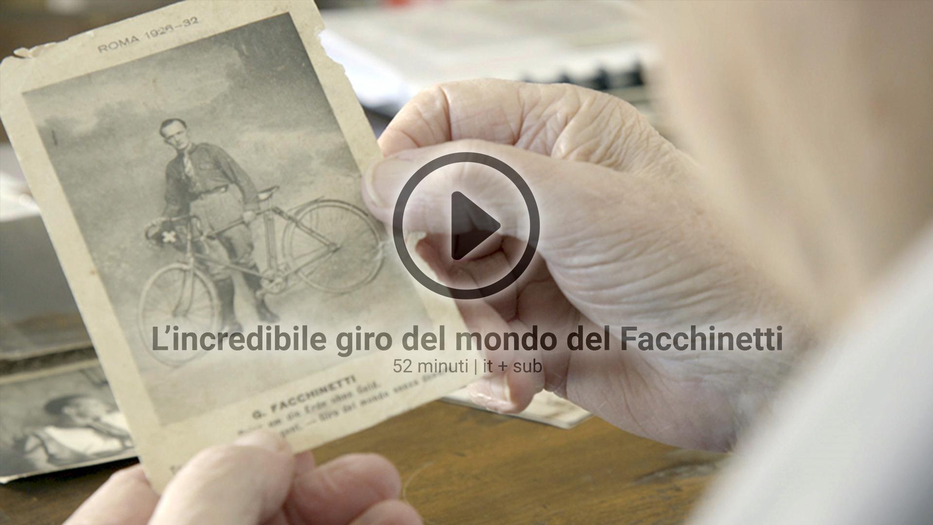 L'incredibile giro del mondo del Facchinetti di Curio